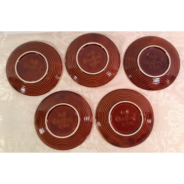 Hull & McCoy Drip Glaze Dishes - Set of 13 - Image 7 of 11