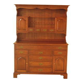 Henkel Harris Cherry 2-Piece China Hutch