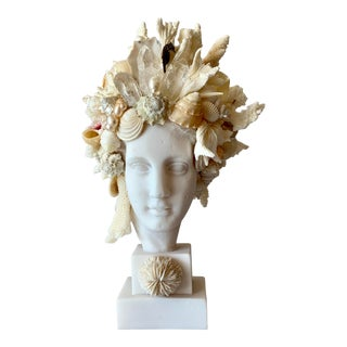 Miniature Hygiea Head Sculpture For Sale