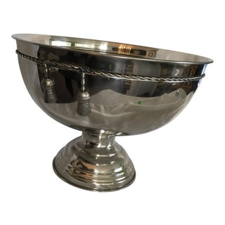 Silver Punch Bowl For Sale