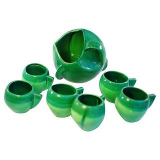 Atomic Green Studio Art Pottery - 11 Pieces