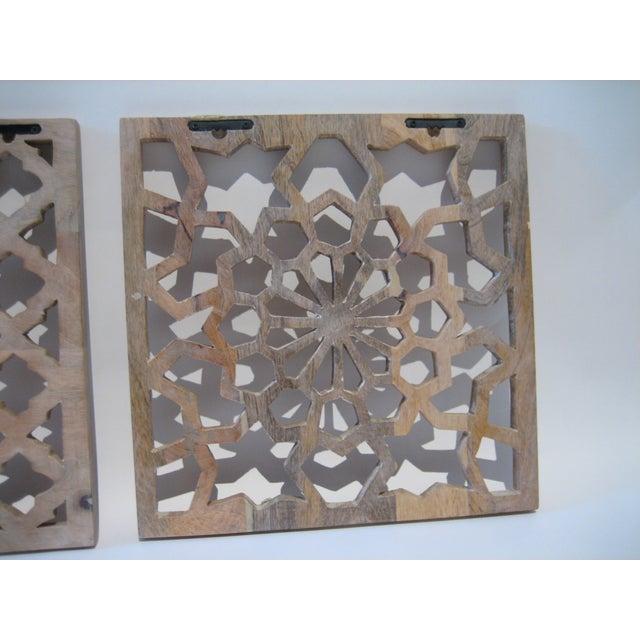 Decorative Wood Panels - Set of 3 - Image 11 of 11