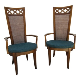 Mid-Century Modern Basic Witz Arm Chairs - A Pair
