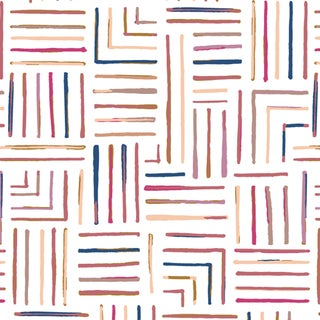 House of Harris Milledge Wallpaper, 30 Yards, Jewel For Sale
