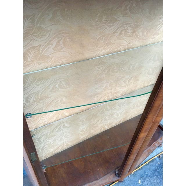 1940's French Provincial Display Cabinet For Sale - Image 9 of 11