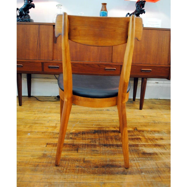 Kipp Stewart for Drexel Declaration Mid-Century Dining Chairs - Set of 4 For Sale - Image 5 of 10