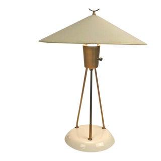 Lightolier Vitrolite Lamp For Sale