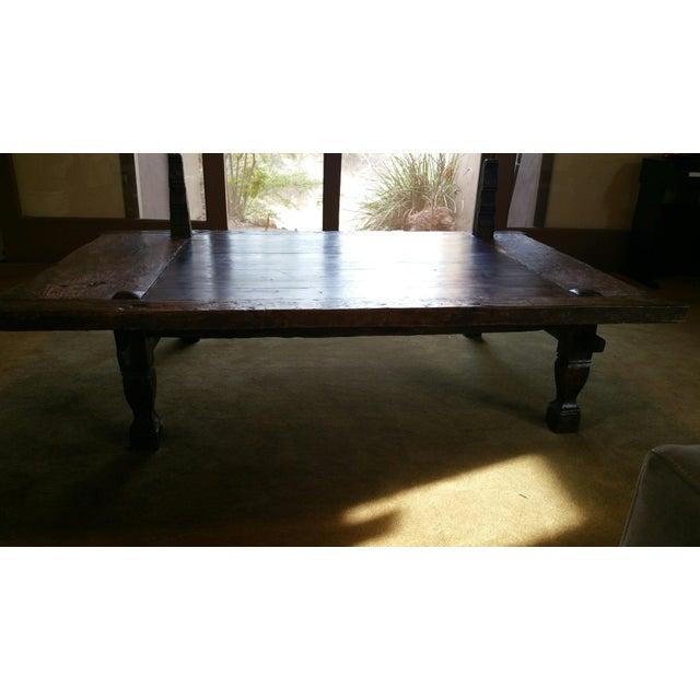 Balinese Teak Coffee Table: Teak Coffee Table From Bali