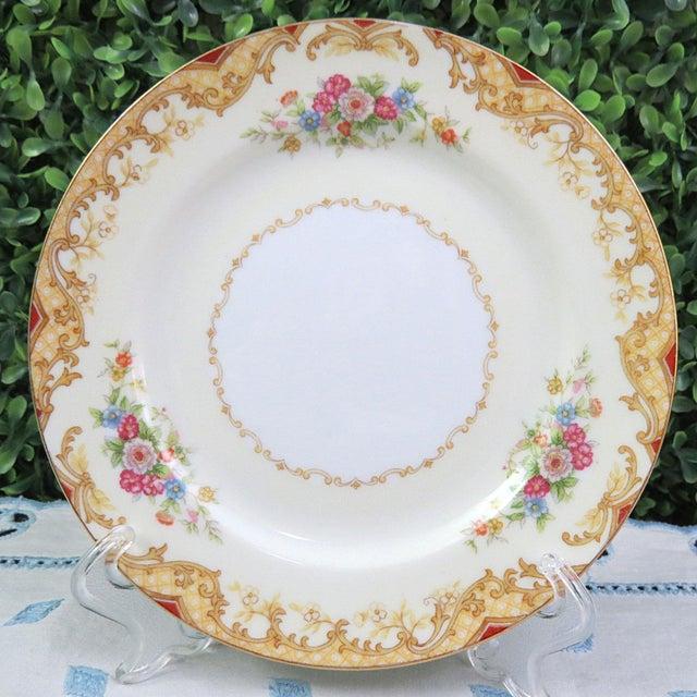 Cottage Vintage Mismatched Appetizer Plates, Set of 8 For Sale - Image 3 of 11