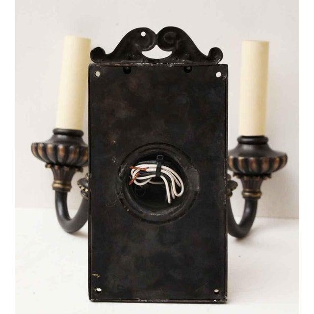 1920s Vintage Tudor Sconces - a Pair For Sale - Image 6 of 10