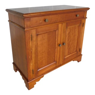 """L & J G Stickley Cherry Valley Chippendale Style Server 38""""w For Sale"""