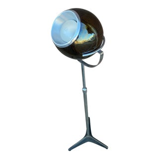 1960s Mid-Century Modern Globe Floor Lamp in the Style of Frank Ligtelijn for Raak For Sale