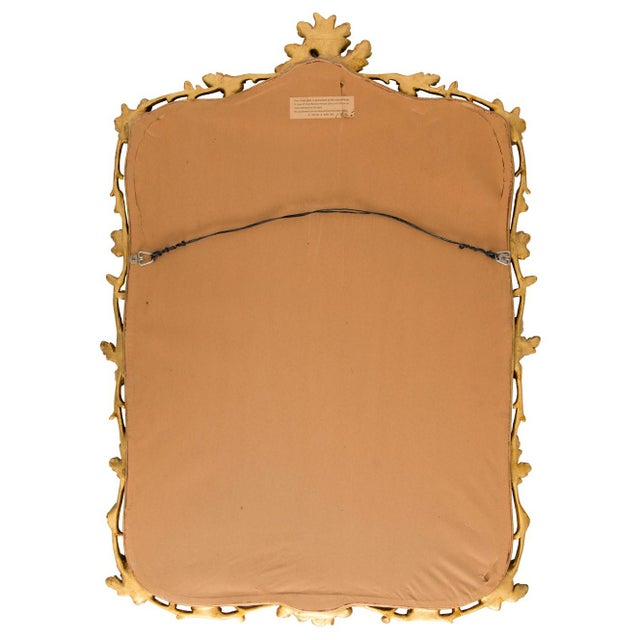 Gold Milch & Son Gilded Oak Leaf Mirror For Sale - Image 8 of 9