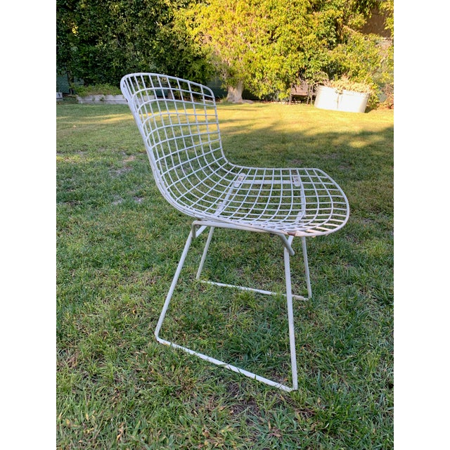 Late 20th Century Bertoia Outdoor Side Chairs- Set of 12 For Sale In Los Angeles - Image 6 of 9