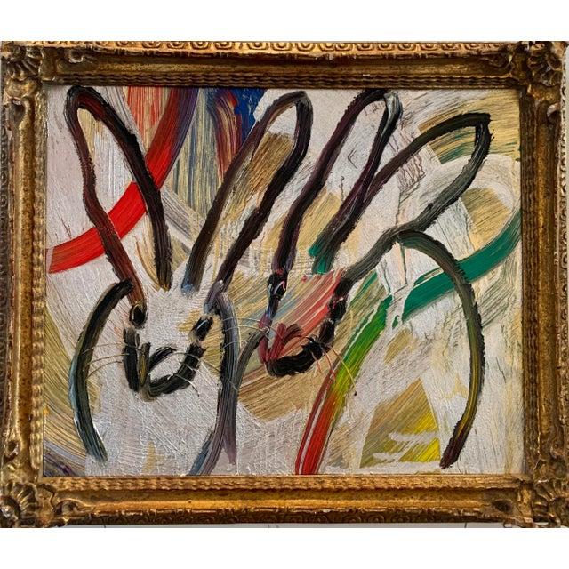 Hunt Slonem Duo Painting by Hunt Slonem For Sale - Image 4 of 4