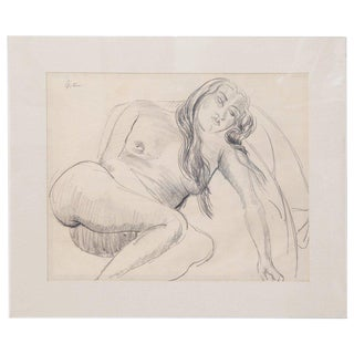 Sir Jacob Epstein Pencil Drawings For Sale