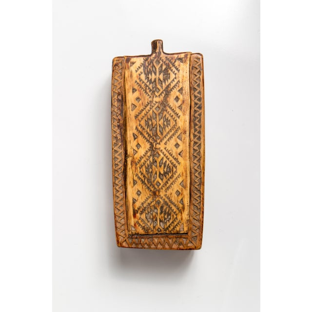 Anglo-Indian Moroccan Sliding Top Wooden Box For Sale - Image 3 of 4