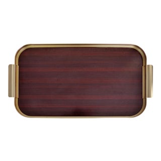 Mid-Century Modern Italian Rosewood Serving Tray For Sale