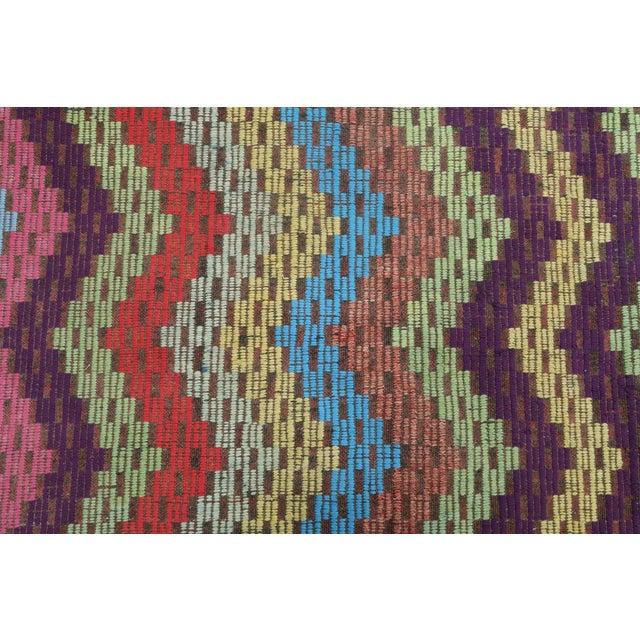 Turkish Embroidered Wool Rug-6'x9'10