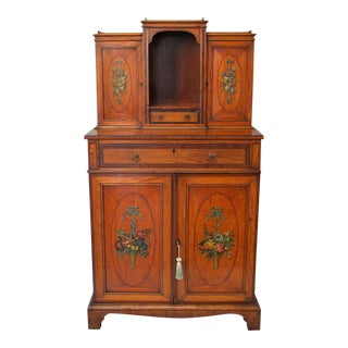 Antique Ladies Secretary Desk For Sale