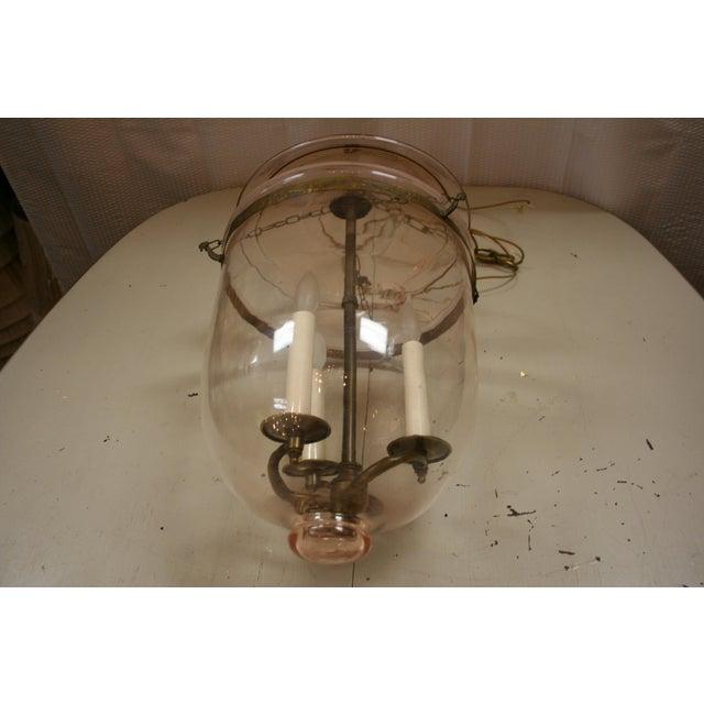 1950s Vintage Bell-Jar Lantern For Sale In Raleigh - Image 6 of 7
