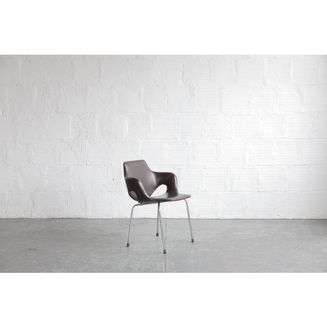 Mid-Century Modern Vintage Mid Century Huonekalutehdas Sopenkorpi Finish Chair For Sale - Image 3 of 9