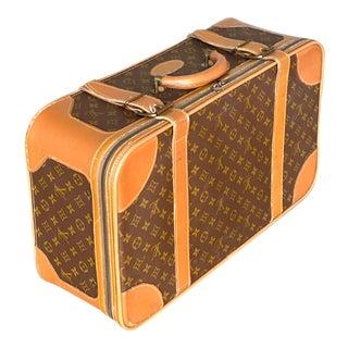 Vintage Louis Vuitton Small Strap Suitcase For Sale