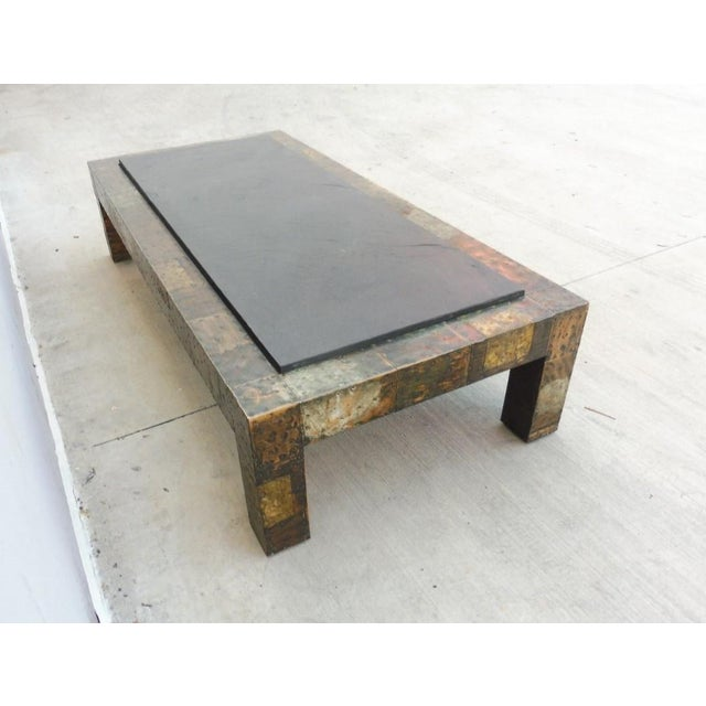 1970's Directional Paul Evans Patchwork Coffee Table For Sale In Miami - Image 6 of 9