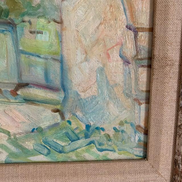 Antique Original Signed Impressionist Oil Painting For Sale - Image 4 of 10
