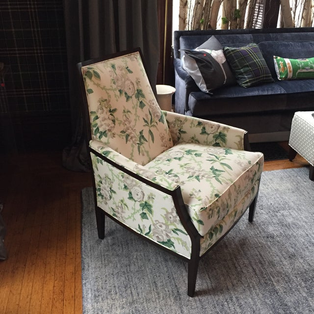 Traditional Mt Transitional Club Chair For Sale - Image 3 of 7