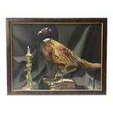 Image of The Pheasant Original Oil Painting For Sale