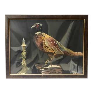 The Pheasant Original Oil Painting For Sale