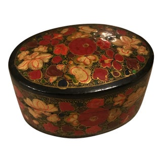 Indian Decorative Paper Maché Box
