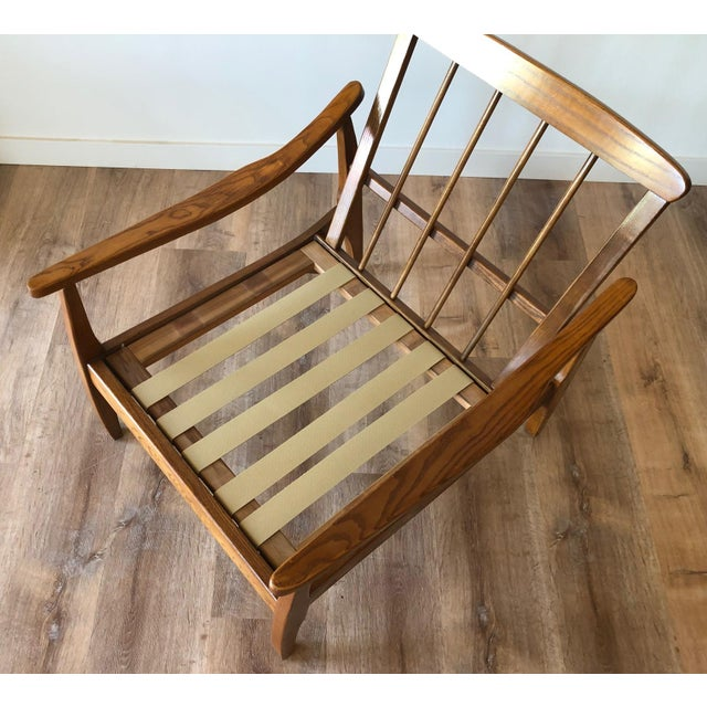 Wood Mid-Century Modern Side Chair For Sale - Image 7 of 13