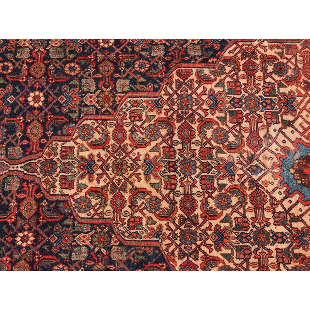 19th Fereghan / Saruk Palace Size Rug For Sale In New York - Image 6 of 13