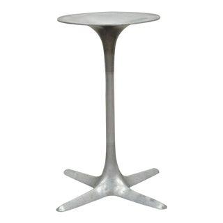 Vintage Burke Mid Century Modern Aluminium Tulip Propeller Dining Table Base A For Sale