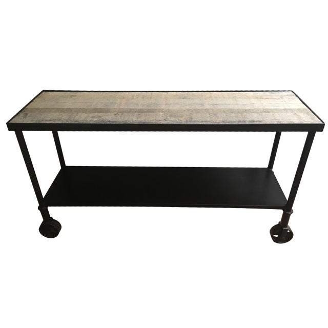 HD Buttercup Rustic Console Table - Image 1 of 7