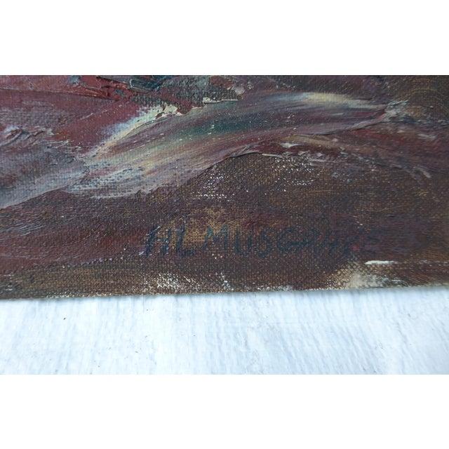 h.l. Musgrave Mid-Century Atlantic Ocean Painting - Image 6 of 7