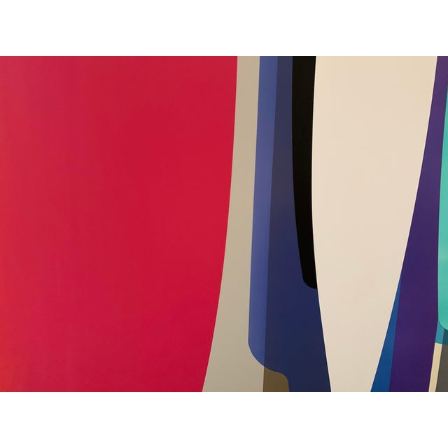 2010s Accelerator, an Acrylic Painting by by Dion Johnson For Sale - Image 5 of 9