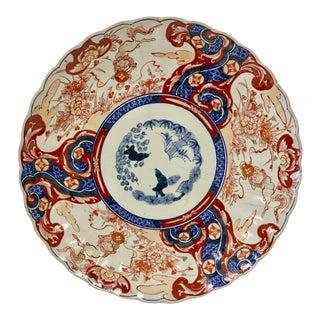 19th Century Imari Platter For Sale
