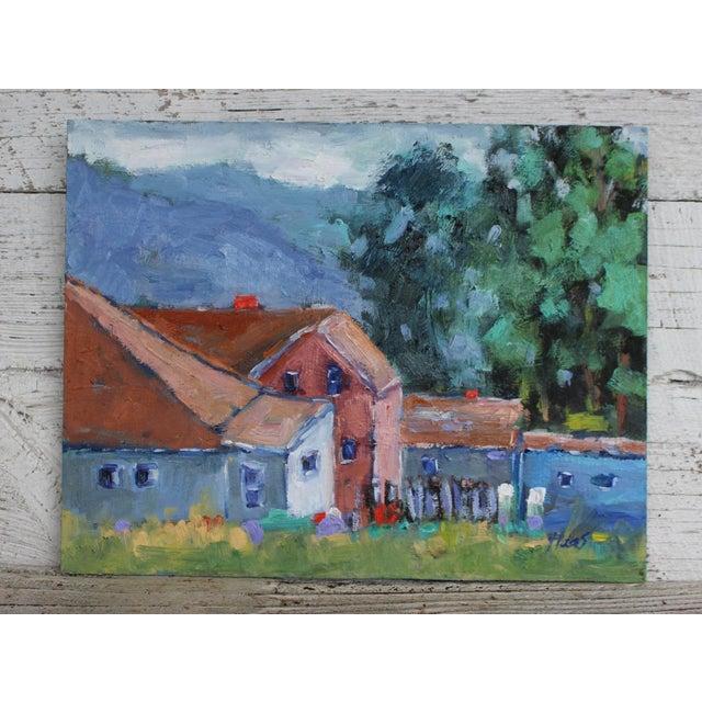 Original Oil Painting Landscape, Fort Bragg California For Sale - Image 11 of 13