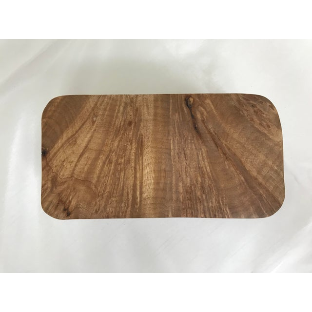 Wood Burl Wood Puzzle Box - 5 Pieces For Sale - Image 7 of 9