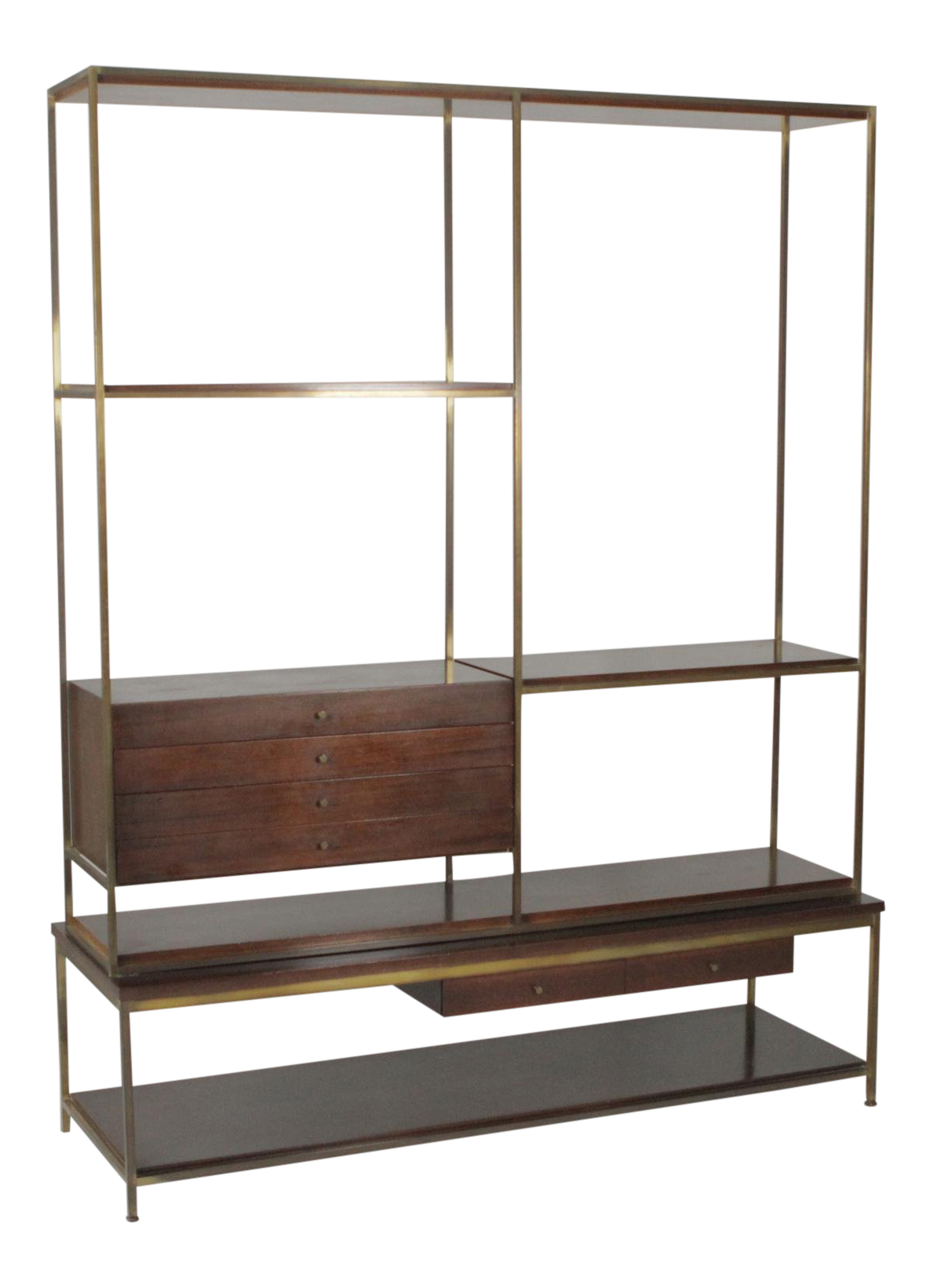 1960s Mid-Century Modern Paul McCobb Wall Unit  sc 1 st  Chairish & Vintage u0026 Used China and Display Cabinets for Sale | Chairish