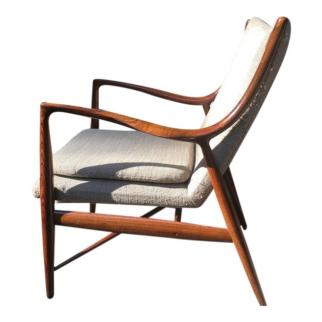 Vintage Finn Juhl Nv-45 Rosewood Club Chair For Sale