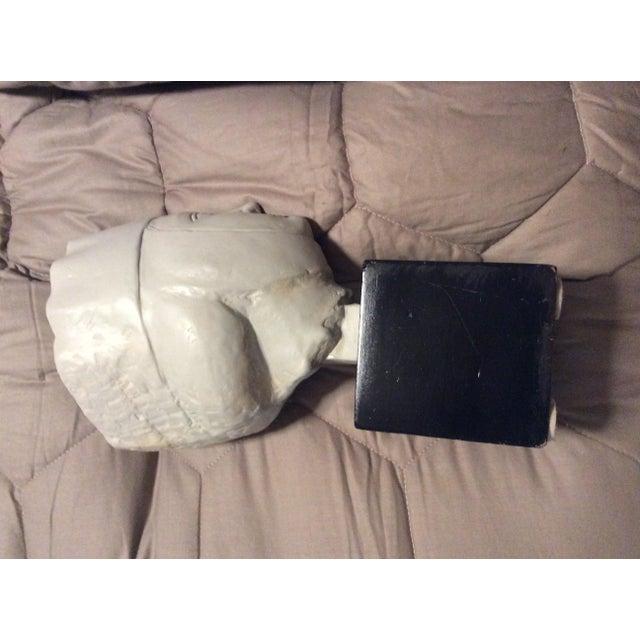 Tan 1960s Vintage Alva Studios Woman's Head Sculpture For Sale - Image 8 of 11