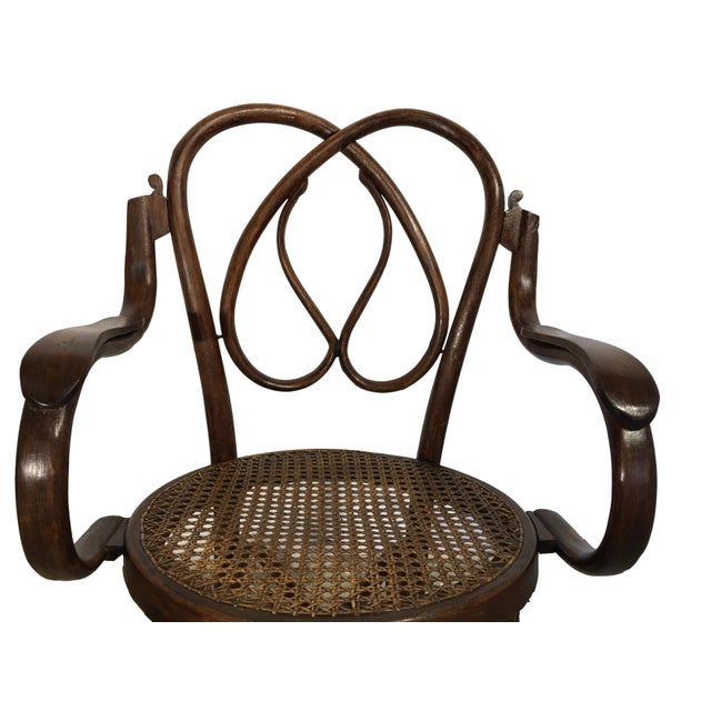 19th Century Bentwood Rocking Chairs in Style of Jacob & Josef - A Pair For Sale - Image 5 of 7