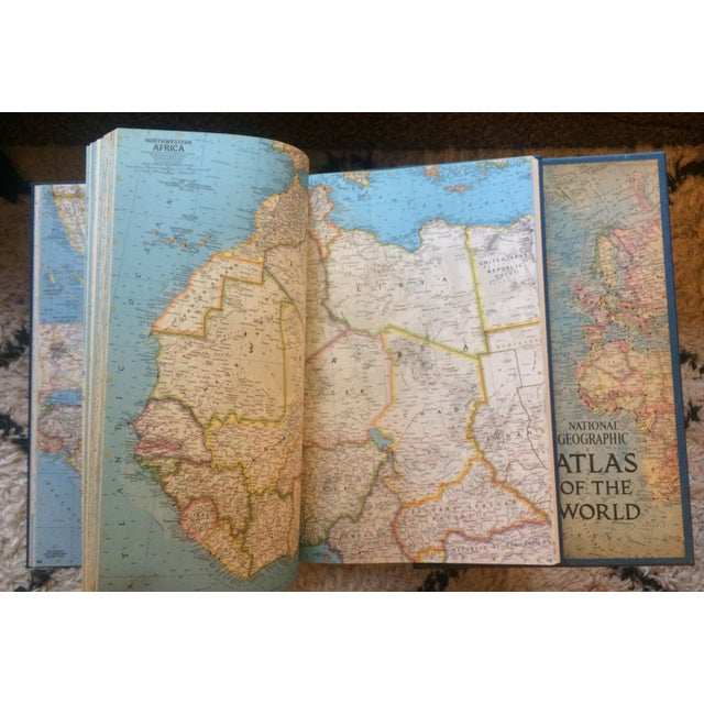 1963 National Geographic Atlas of the World First Edition Book For Sale In Greensboro - Image 6 of 12