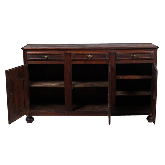 Late 19th Century 19th C. Louis XV-Style Buffet For Sale - Image 5 of 12
