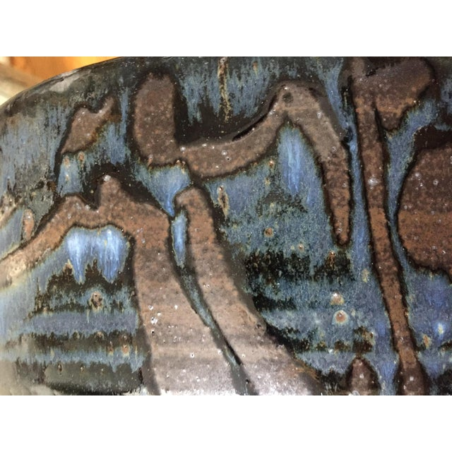 Signed Gerry Williams Mid-Century Stoneware Bowl - Image 2 of 6