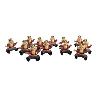 1993 Fitz & Floyd Toy Soldier Placeholders - Set of 12